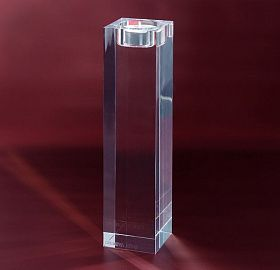 Candle holder Crystal Cube XL