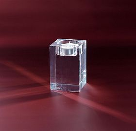 Candle holder Crystal Cube S