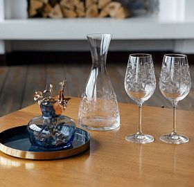 Set of wine glasses NATURA