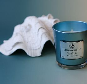 Scented Candle Sea Side
