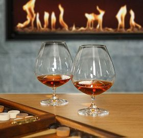 Set of cognac glasses ASTORIA