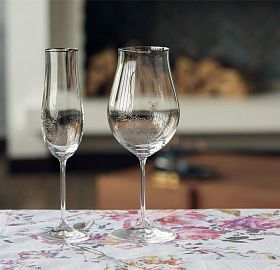 Set of glasses for champagne PAULINA