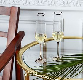 Set of glasses for champagne MERCURY