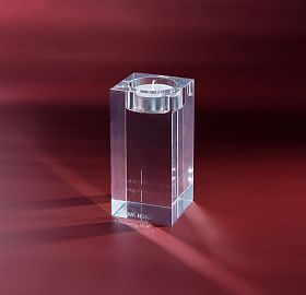 Candle holder Crystal Cube М