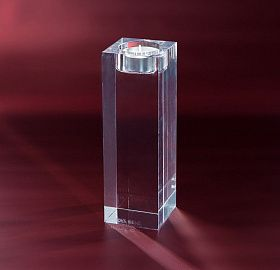 Candle holder Crystal Cube L